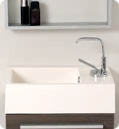 Sink Vanity For Small Bathroom Fresca Pulito Small Gray Oak Modern Bathroom Vanity W