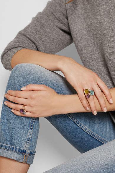 pomellato nudo replica pomellato nudo petit 18 karat gold amethyst ring