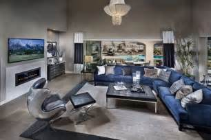Home decorating ideas navy blue house design and