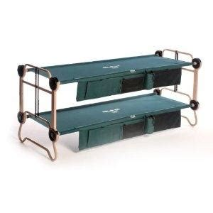 bunk bed cots cheap kid o bunk portable bunk bed cot couch side by side cots