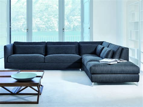 slim sectional sofa 930 zone slim xl sectional sofa by vibieffe design