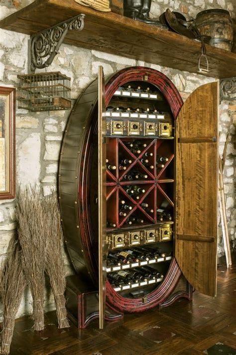 mobili per bottiglie di vino mobile per stoccaggio bottiglie a forma di botte idfdesign