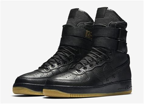 Melda Top Black Sf nike sf af1 black gum 864024 001 sneaker bar detroit
