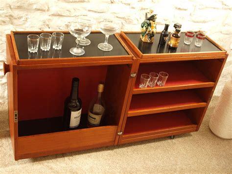Folding Home Bar Cabinet Ebay 1960s Erick Buch For Dyrlund Folding Bar Cabinet Retro To Go