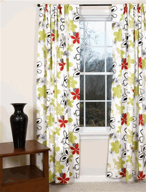 floral window curtains regis floral curtains contemporary curtains by