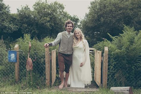 hobbit mad transform garden into middle earth to