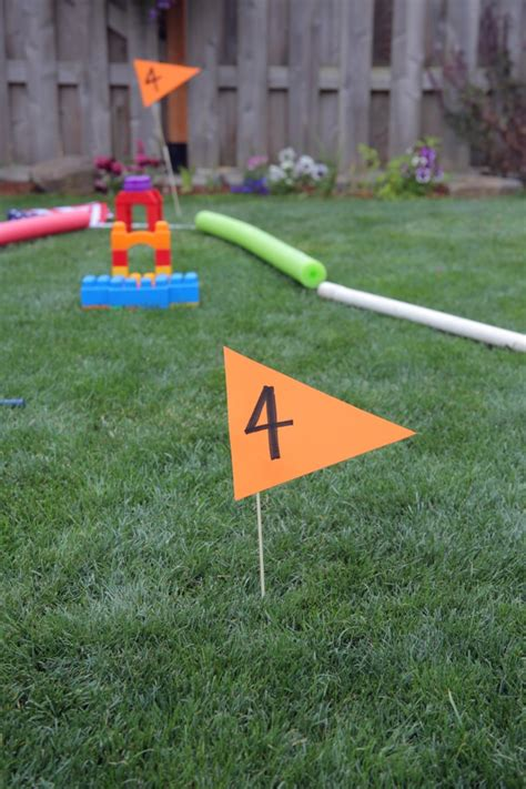 backyard mini golf course diy backyard mini golf course image mag
