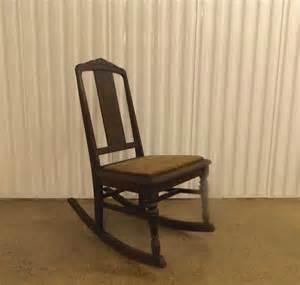 antique rocking chair deco nursing rocker no by
