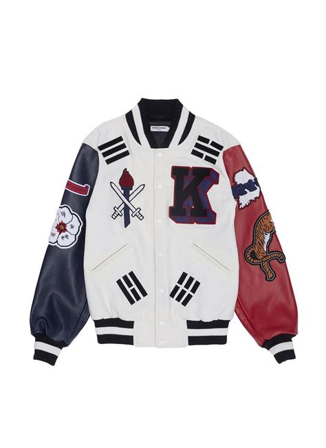 Jacket Korea opening ceremony global varsity jacket korea for lyst