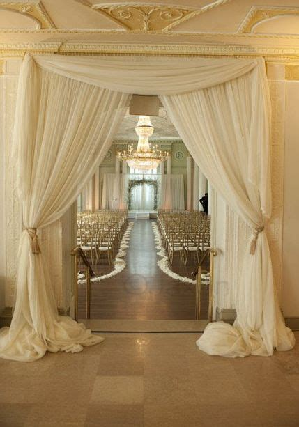 best fabric for wedding draping opinions on ceremony backdrop decor needed weddingbee