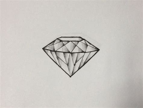 tattoo diamond drawing 43 amazing diamond tattoos designs