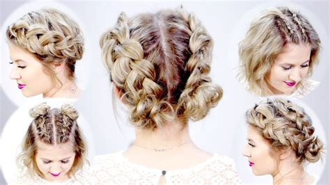 braided hairstyles in short hair 5 double dutch braided hairstyles for short hair milabu