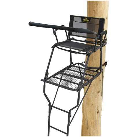 Rivers Edge Comfort Tree Seat by Rivers Edge Syct Wide 17 Ladder Tree Stand 667261