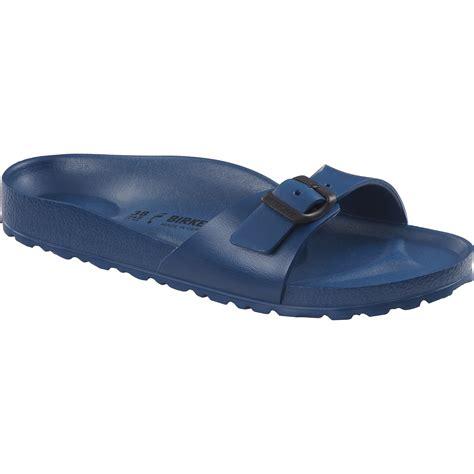 birkenstock plastic sandals birkenstock madrid navy mens