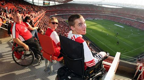 emirates wheelchair assistance highbury or emirates feature news arsenal com