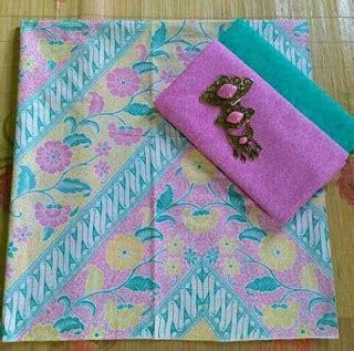 Set Kain Batik Dan Embos 36 Tips Merawat Baju Batik Eny Richa Victiari