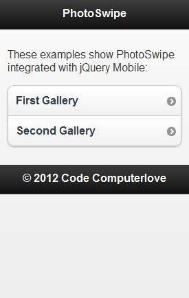 jquery mobile slideshow image gallery แสดง slideshow บน jquery mobile ร วมก บ php