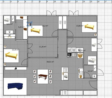 plan maison patio central maison plain pied avec patio central nomeny meurthe et