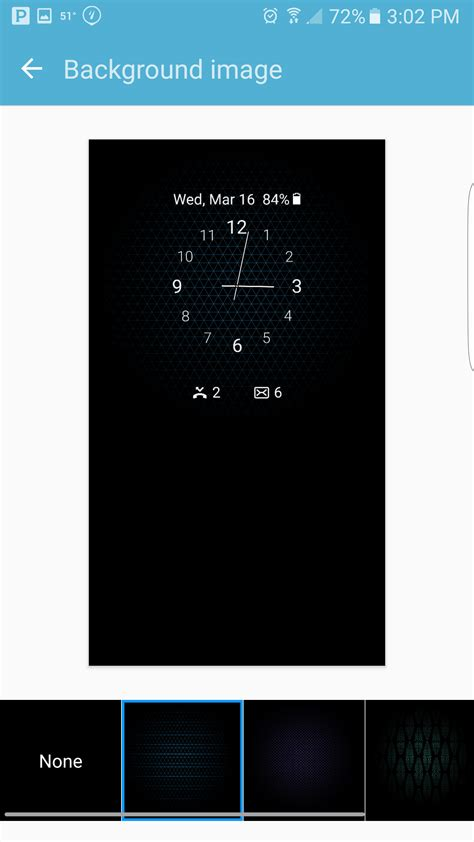 samsung clock themes com setting up the always on display on the galaxy s7 and s7
