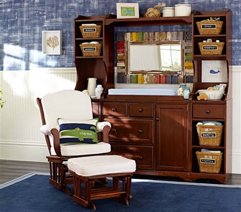 Madison Changing Table System Pottery Barn Kids Changing Table System