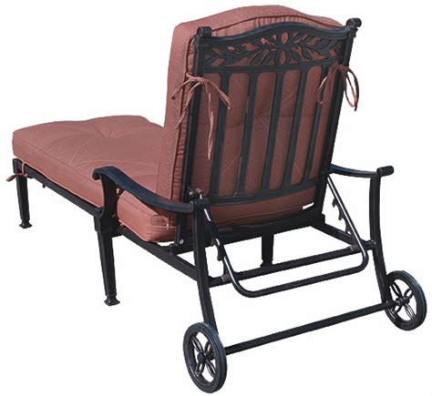 Chaise Patio Furniture by Patio Furniture Chaise Lounge Cast Aluminum Charleston