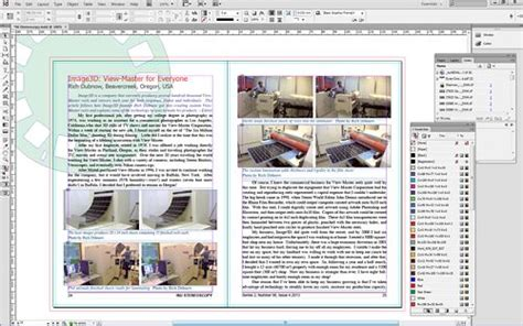 layout zone indesign cs6 international stereoscopic union stereoscopy the
