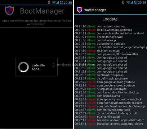 android bootc android bootmanager speed up phone boot by disabling apps on start up android advices