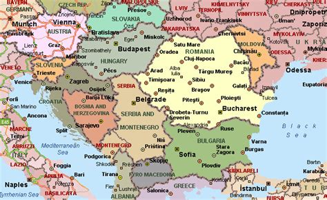 where is romania on a map romania maps geographical political road