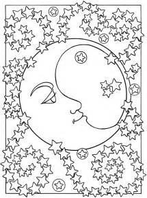 moon coloring pages for adults free moons and coloring pages