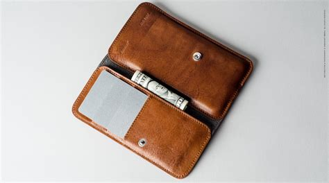 hardgraft leather iphone xs xs max card wallet 187 gadget flow