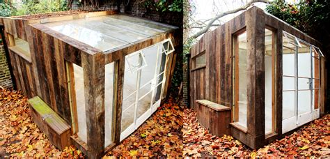 Reclaimed Wood Shed by The Shed Builder Bespoke Sheds Outhouses Garden Rooms