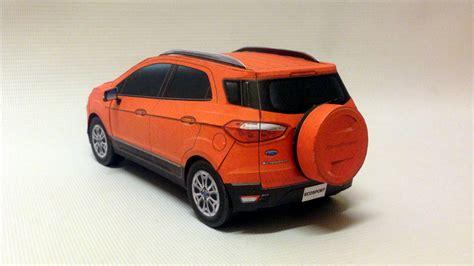 Yoshiny's Design: Ford EcoSport PaperCraft