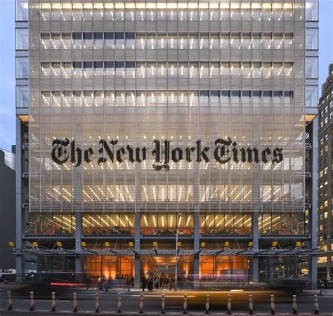 New York Times Office by Bienvenidos A T Magazine T Spain The New York Times