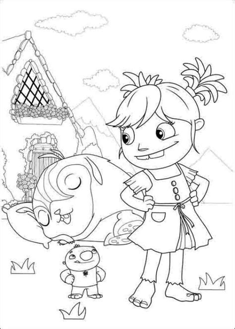 nick jr wallykazam coloring pages wallykazam nick jr coloring page
