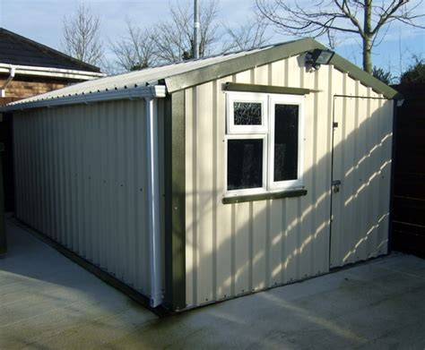 Maintenance Shed by Breen Steel Sheds Steel Garden Sheds Tank Security