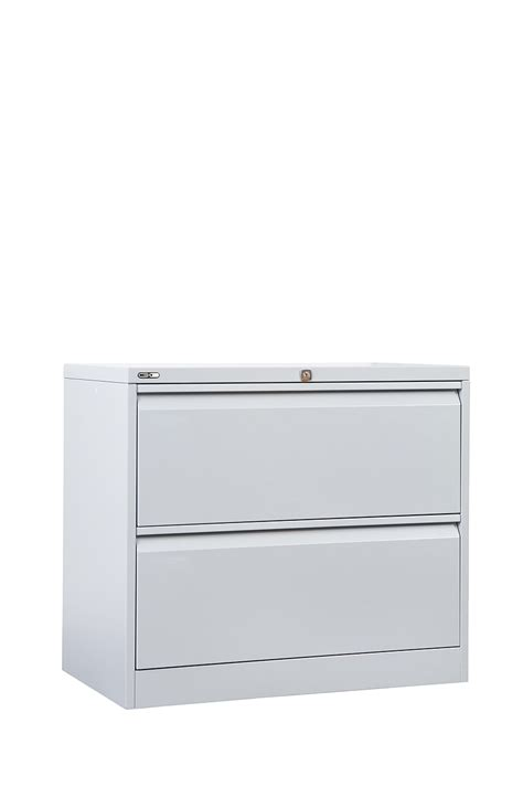 Steel Lateral File Cabinet Go Steel Lateral 2 Draw Filing Cabinet Glf2