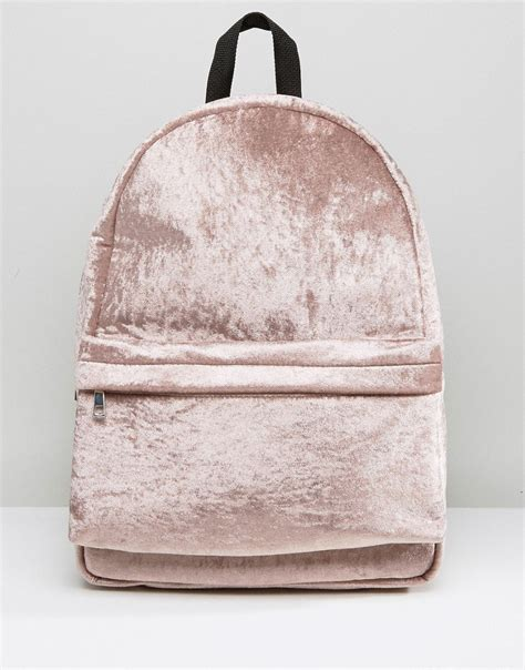 Missguided Crushed Velvet Backpack 28 ridiculously stylish purses that only look expensive