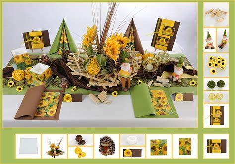Tischdeko Mit Sonnenblumen by Geburtstags Tischdeko Mit Sonnenblumen Tafeldeko