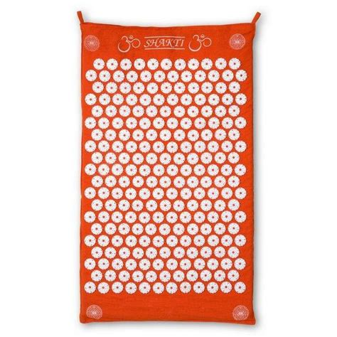 shakti mat original orange shakti acupressure mat nz