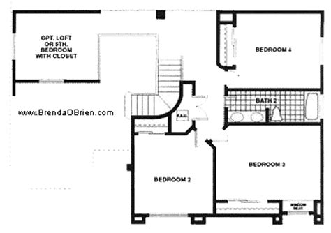 1 Provost Square 2nd Floor 2nd floor plan with 3 bedrooms home plan