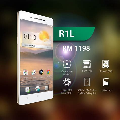 Handphone Oppo N3 Di Malaysia oppo r1l now available in malaysia for rm1 198 lowyat net