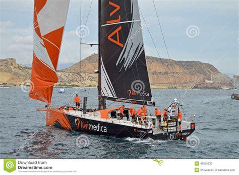 sailing boat yacht racing team alvimedica volvo race