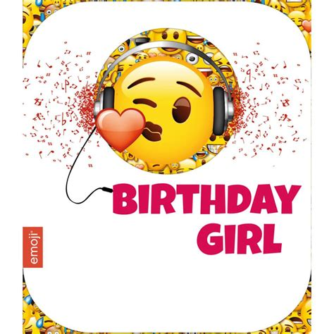 emoji birthday card template emoji greeting birthday cards ebay