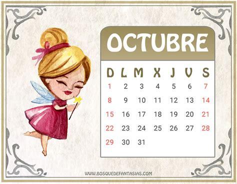 Calendario Octubre Noviembre 2017 Calendarios Para Ni 209 Os 174 Calendario Infantil 2017 Para