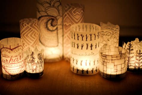 How To Make A Lantern Out Of Paper - diy paper lantern
