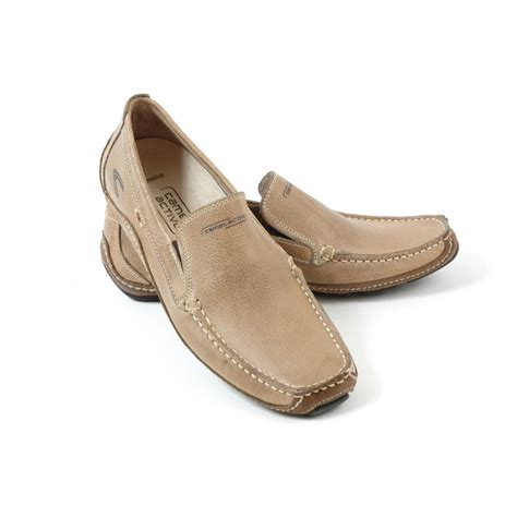 casual mens shoes camel active brasilia mens slip on casual loafer shoe