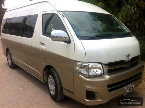 Toyota Commuter 2012 Used Toyota Hiace Grand Cabin 2012 Car For Sale In Lahore