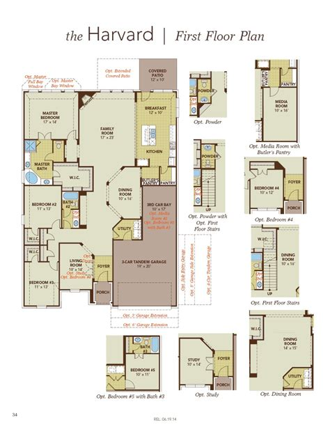 gehan homes floor plans harvard home plan by gehan homes in avalon