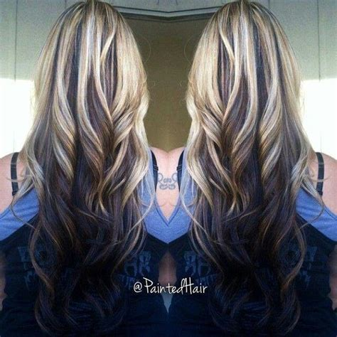 hairstyle reverse highlight 25 best ideas about highlights underneath hair on