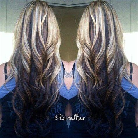 hairstyle with dark color underneath best 25 dark underneath hair ideas on pinterest blonde